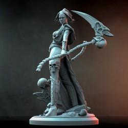 Mortaya Warrior + NSFW - STL 3D print files