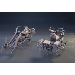 Mandalorian Speeder Bike - STL 3D print files