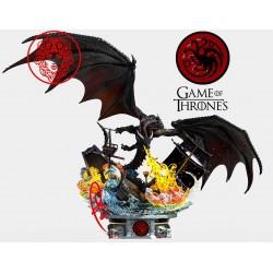 Drogon Game of Thrones - STL 3D print files