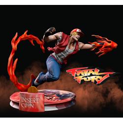 Terry Bogard Fatal Fury - STL 3D print files
