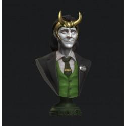 Loki bust - STL 3D print files