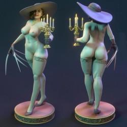 Lady Dimitrescu NSFW - STL 3D print files