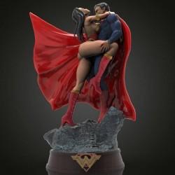 Superman and Wonder Woman - STL 3D print files
