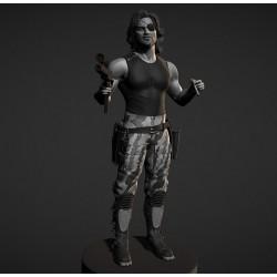 Snake Plissken Escape from New York - STL 3D print files