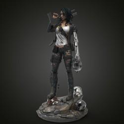 Terminator Girl - STL 3D print files