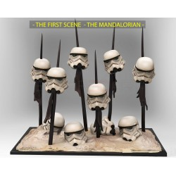 The Mandalorian Stormtrooper First scene - STL 3D print files