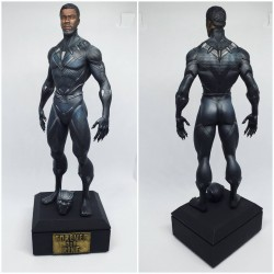 Black Panther King Tribute - STL 3D print files
