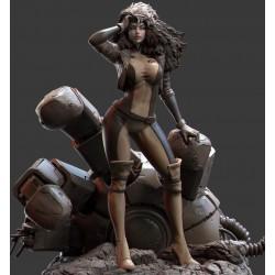 Rogue X-men - STL 3D print files