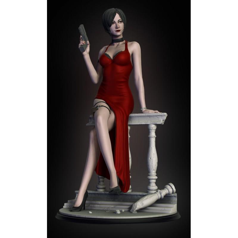 Ada Wong - Resident Evil - STL Files for 3D Print