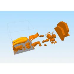 Chun-Li Street Fighter - STL Files for 3D Print