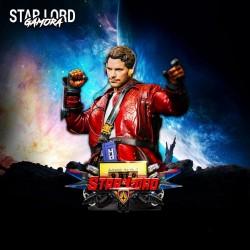 Starlord Bust - STL 3D print files