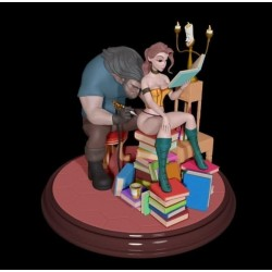 Belle and the Beast - STL 3D print files