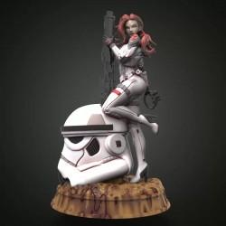 Sexy Star Wars - STL 3D print files