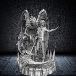 Light & Ryuk Death Note Diorama - STL Files for 3D Print