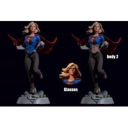 Supergirl DC - STL 3D print files