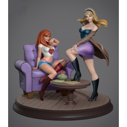 Mary Jane and Gwen Stacy SFW + NSFW - STL 3D print files