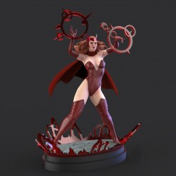 Scarlet Witch + NFSW - STL 3D print files