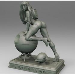 Star Wars Girl Tie Pilot Version 3 - STL 3D print files