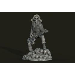 Eddie skull Iron Maiden - 3d print stl files