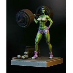 She-Hulk - STL 3D print files