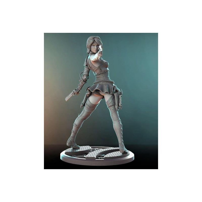 Felicia - Gambit of Guns - STL Files for 3D Print