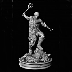 Azog The Lord of the Rings - STL 3D print files