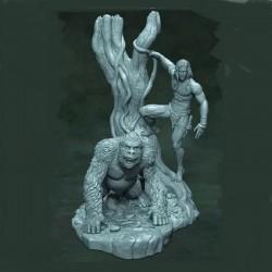 Tarzan Lord of the jungle - STL 3D print files