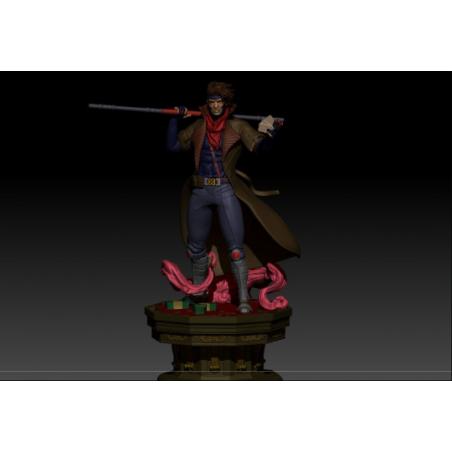 X-MEN Gambit - STL Files for 3D Print