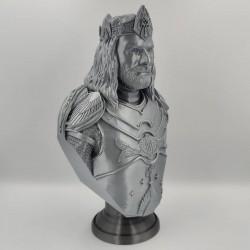 King Aragorn Bust - STL 3D print files
