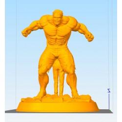 HULK Edward Norton - STL Files for 3D Print