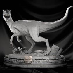 Blue Velociraptor  Jurassic Park - STL 3D print files