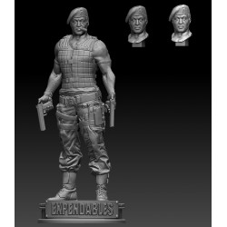 The Expendables Barney Ross - STL 3D print files