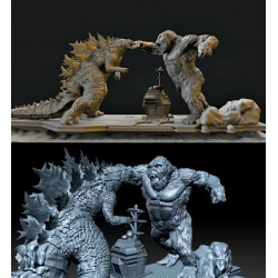 Godzilla VS Kong - STL 3D print files