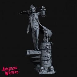 Edgar Allan Poe - STL 3D print files