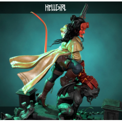 HellGirl Statue - STL Files for 3D Print