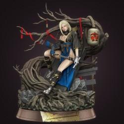 Android 18 Samurai Version - STL Files for 3D Print