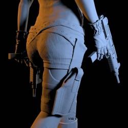 Alice Resident Evil - STL Files for 3D Print
