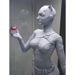 Catwoman Statue - STL Files for 3D Print