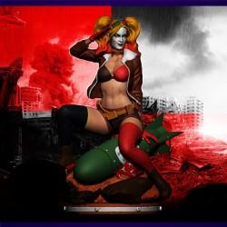 Harley Quinn Bombshell - STL Files for 3D Print