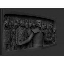 Night King Hardhome Relief Game of Thrones - STL 3D print files