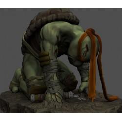 Battle Michelangelo TMNT - STL 3D print files