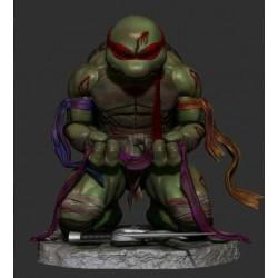 Battle Raphael TMNT - STL 3D print files