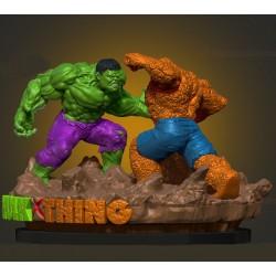 Hulk vs The Thing - STL 3D print files