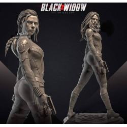 Black Widow 2021 - STL 3D print files