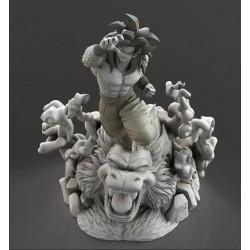 Goku SS4 Ozaru Dragon Ball Z - STL 3D print files