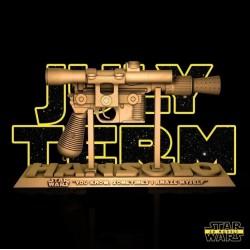 Han Solo Blaster Star Wars - STL 3D print files