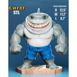 King Shark Chibi - STL 3D print files