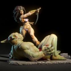 Marcella NSFW - STL 3D print files