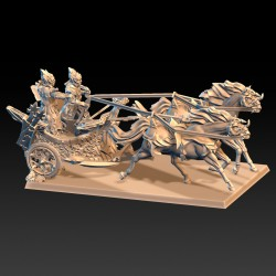 Hunting chariot - STL 3D print files