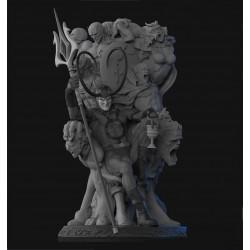 Loki on Throne - STL 3D print files